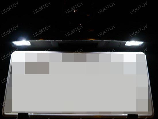 Mercedes - C350 - error - free - led - license - plate - lights - 6